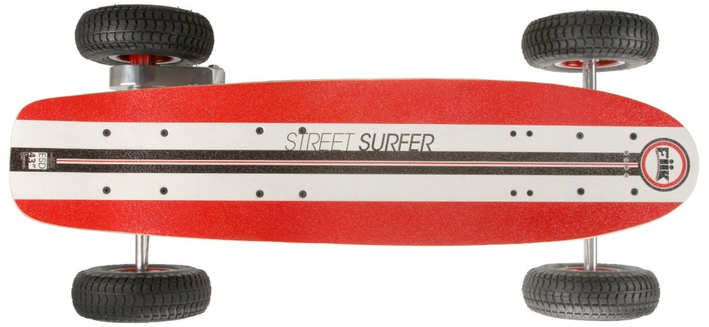 FiiK Street Surfer RC Electric Skateboard top - Copy