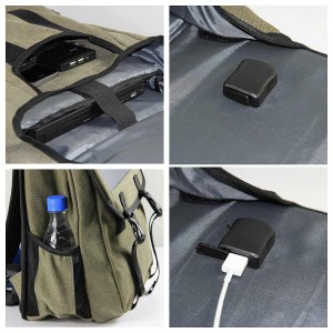 Backpack Solar Charger 1