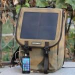 Solar Panel Backpack Power Generator