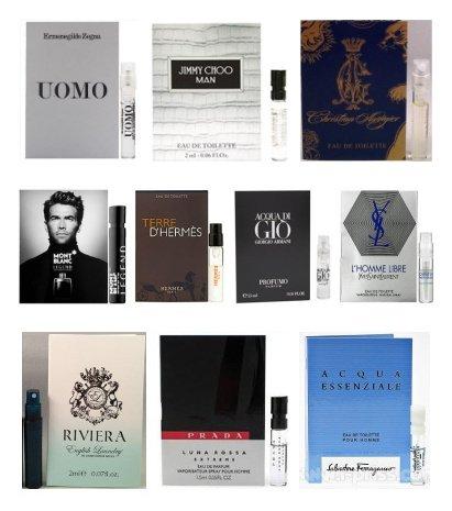 Mens Fragrance Sample Set