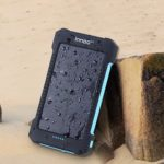 INNOO Solar Charger with 10000mAh Power Bank & Dual USB Port