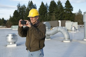 FLIR C2 Compact Thermal Imaging System Check Roof Membrane