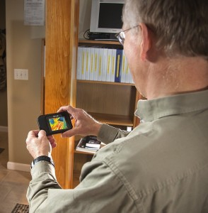 FLIR C2 Compact Thermal Imaging System check floor heat pipes