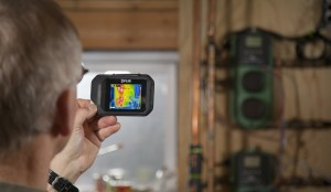 FLIR C2 Compact Thermal Imaging System electrical hotspots